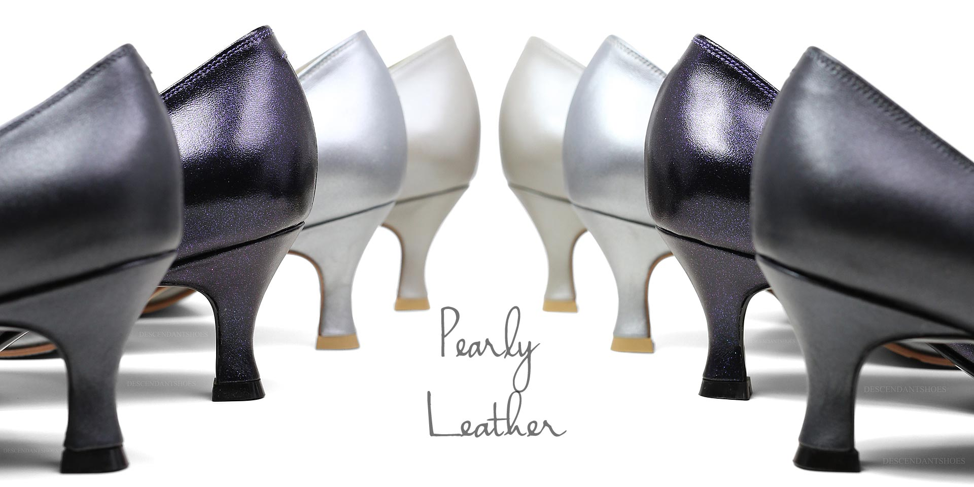 pearl leather